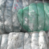 Recycled plastic baling
